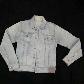 Jaket Jeans Blue Washed