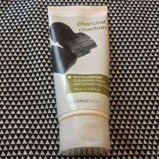 The Face Shop Charcoal Cleansing Foam