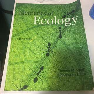 Elements Of Ecology 8th ed.