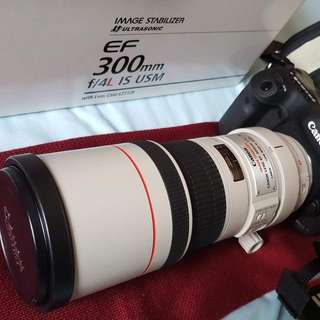Canon EF 300mm f/4L IS USM Telephoto Fixed Lens for Canon SLR Cameras For Sale 🔥🌟🌟🌟🌟🌟🔥