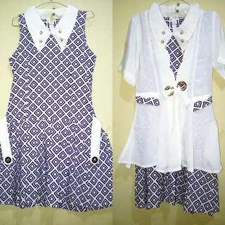 (Reprice) Vintage Dress Set