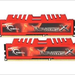 GSkill Ripjaw 1866Mhz 2x4gb DDR3 Ram