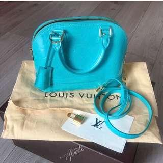 Louis Vuitton Alma BB in Bleu Lagoon
