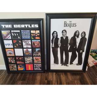 Beatles framed poster/art