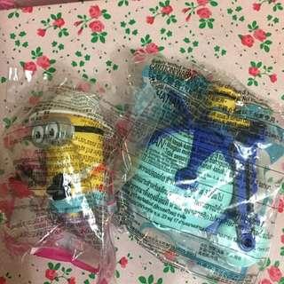 Minions 壞蛋掌門人3 麥當勞玩具