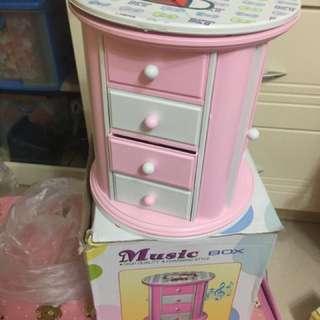 Hello Kitty音樂盒 首飾盒 儲物盒