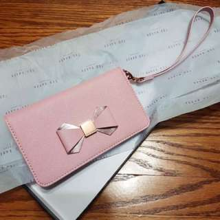 Ted baker Sephina Bow Leather Phone Sleeve