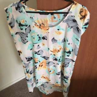 Size 8 Glassons Top