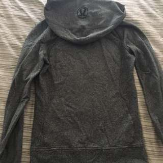 Lululemon RRP $120 Hoodie Jacket Zip Size 2 Excellent Condition