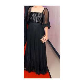REPRICED! Miss Elliette California Vintage Glamour Gown