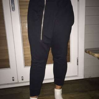 Causal Zip Track pants
