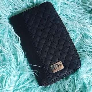 Black Colette Travel Wallet