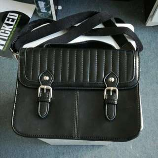 Cute Black Briefcase Handbag