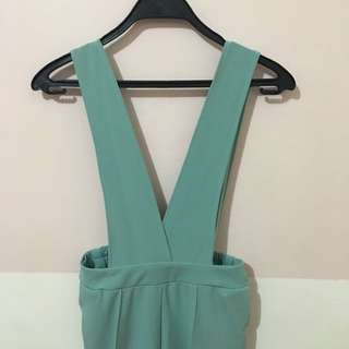 Teal Jumper Culottes (garterized)