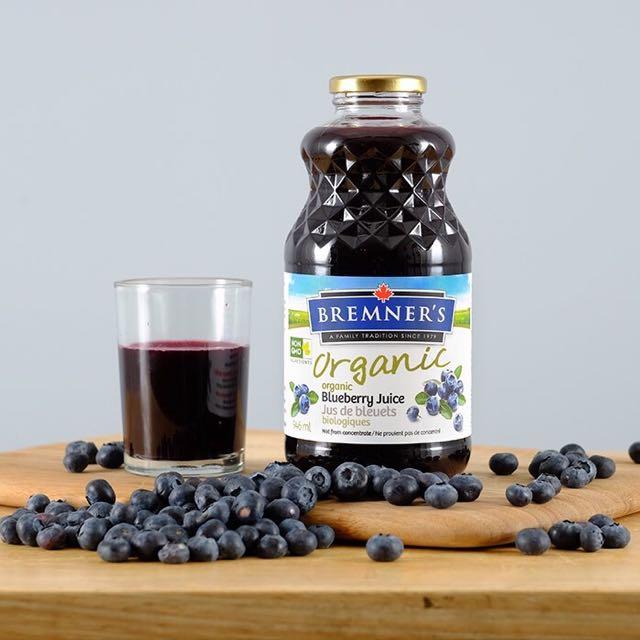 Image result for bremner's organic blueberry