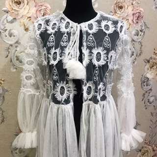 White Lace Outter