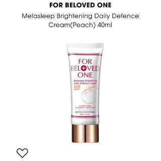 For Beloved One Melasleep Brightening Daily Defence Cream