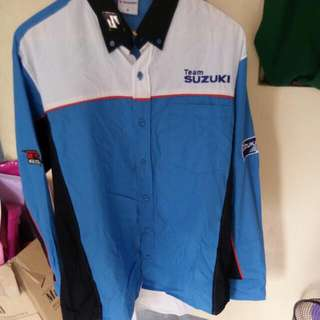 Team Suzuki Longsleeve Polo