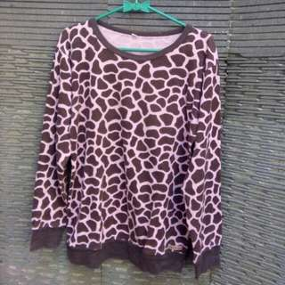 Leopard Sweatshirt By Cik-cik Collection