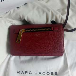 Marc Jacobs Gotham Wallet with leather strap