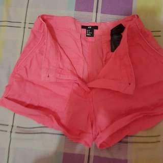 HnM Pink Short