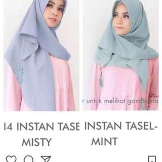 Segi Empat Instan Tassel By Vanilla Hijab
