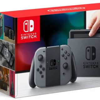 Nintendo Switch Console + Just Dance 2017