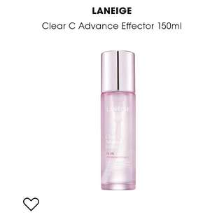 LANEIGE CLEAR C ADVANCED EFFECTOR (BRAND NEW) 150ml