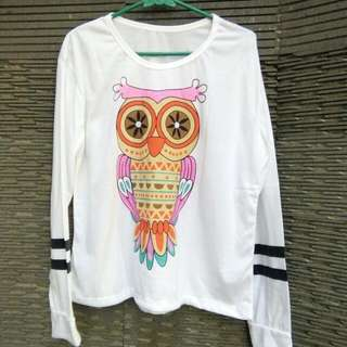 Longsleeve Owl