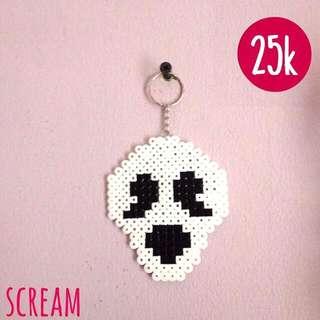Scream Keychain