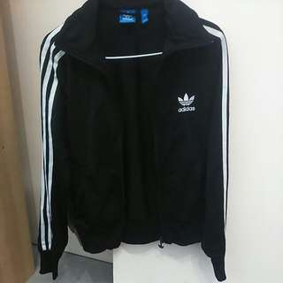 Adidas Firebird Track Jacket Black(BRAND NEW!!!!)
