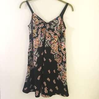 Zara Flowers Dress