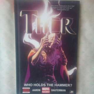 Thor Who Holds The Hammer?