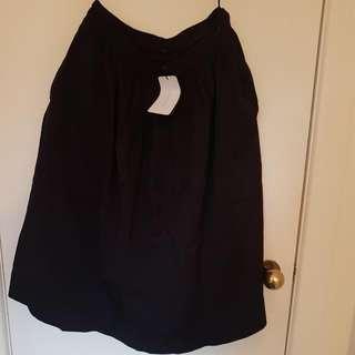 Black Midi Zara Skirt