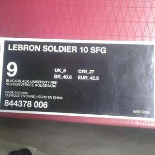 LeBron Soldier 10 SFG
