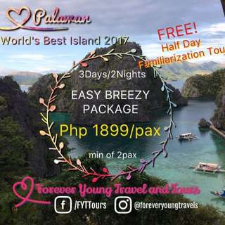 Palawan Easy Breezy Package