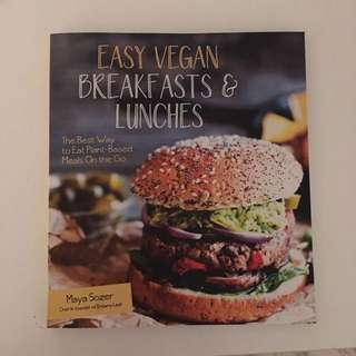 Easy Vegan Breakfast & Lunches Book