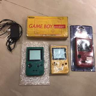 🚚 GAME BOY pocket gbp 任天堂掌機