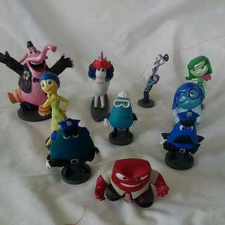 Disney's Inside Out Collectable Toys