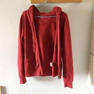 Uniqlo酒紅外套