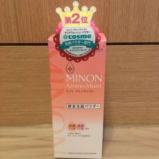日本第一三共 MINON 保濕酵素洗顏粉 35g