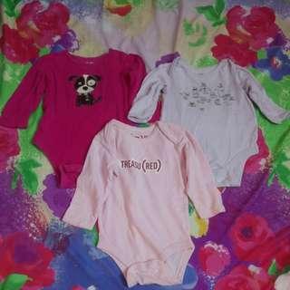 Baby Gap Onesies Long Sleeves For Baby Girls