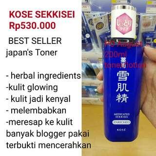 Kose Sekkisei Toner Lotion Medicated