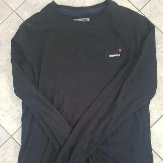 Superdry Black Long Sleeve