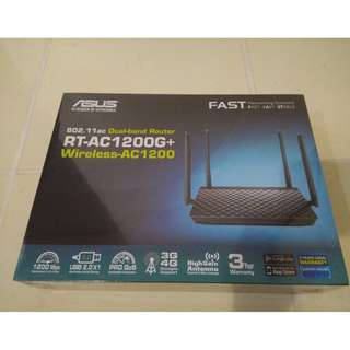 ASUS Router, RT-AC1200+ (latest model) and brand new