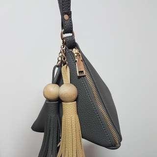 BN Dumpling wristlet bag
