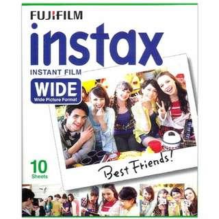 Instax Wide Film For Polaroid Instax 200, Instax 210, Instax 300, Lomo Instant