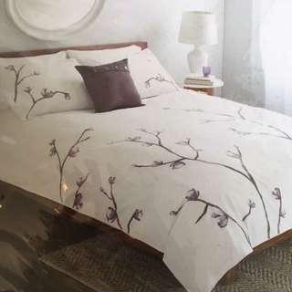 Bouclair Magnolia QB Quilt Cover Set