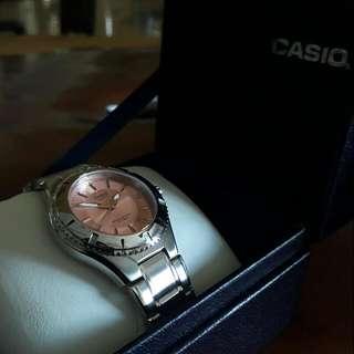 Casio Stainless Steel Watch