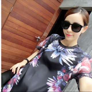 Printed Shirt/Dress
